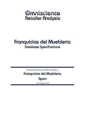 Franquicias del Muebleria – Spain: Retailer Analysis Database Specifications (Omniscience Retailer…
