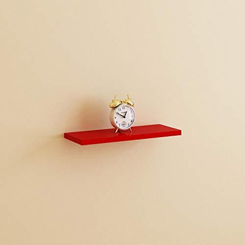 Wandtrennwand-40 * 15 Rot-1 Stückregale,Vitrine Wohnzimmer, Schlafzimmer, Kinderzimmer,Büro,Wandboards,Holzregal ,Schweberegal,Hängeregal,Wandboard,