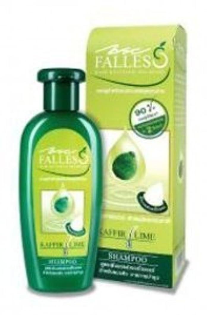 多年生粘着性匹敵しますFalless Hair Reviving Shampoo - Fullness & Strong formula (For highly damaged hair) 180 ml. by Falless
