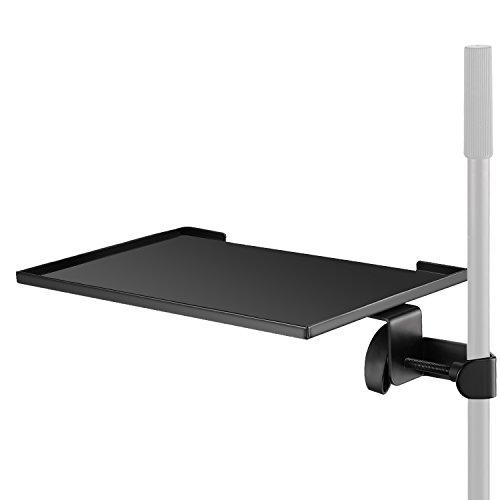 Neewer Ansteck Laptop Notebook Plattform, aus Stahl mit maximal 3kg Tragfähigkeit für Laptop Projektor Kamera Aufnahmen Musik (Stativ ist nicht im Lieferumfang enthalten)