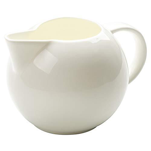 Keramik-Milchkännchen mit Griff, 340 ml, polnische Keramik, für Sauce auf Küchentisch