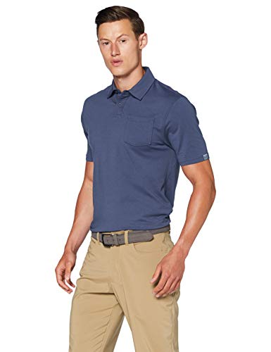 Under Armour Herren Poloshirt Charged Cotton Scramble, Blau, LG, 1321111-408