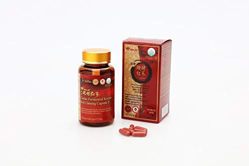 Capsule F Ginseng rosso coreano fermentate 60 capsule (60 giorni)