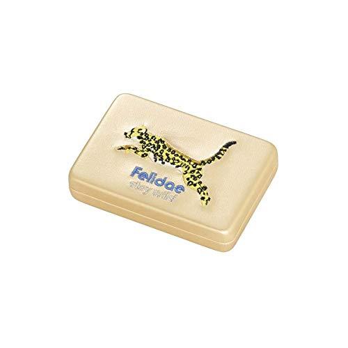 (ユニバーサルランゲージ) JOliJOli/メタリック アニマル刺繍コンパクトミラーケース ゴールド 0