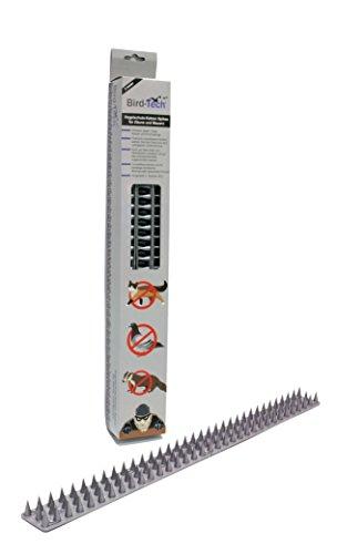 Vogelschutz-Katzen Spikes für Zäune und Mauern 45cm (Metall)