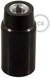 250 V 4 A Lot de 5 douilles E14 en bak/élite PEBA style r/étro culot E14 noir