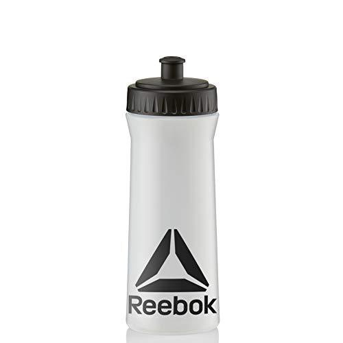Reebok Botella de Agua - Claro/Negro, 500 ml