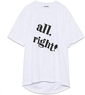 Snidel 大商标T恤 SWCT192120