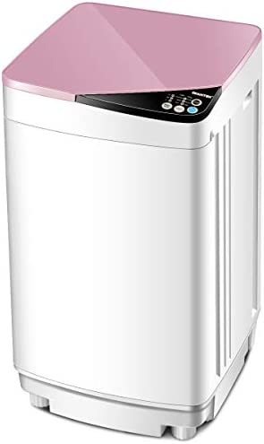 Giantex Full Automatic Washing Machine Portable Washer and Spin Dryer 7 7 lbs Capacity Compact product image