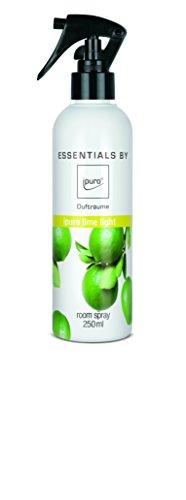 ipuro ESSENTIALS Raumspray lime light, 1er Pack (1 x 250 ml)