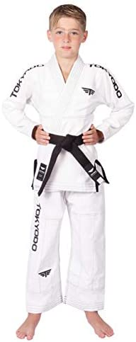TOKYODO Jiu Jitsu Gi BJJ Kimono Uniform Lightweight for Kids Unisex 350 Grams All Play Weave product image