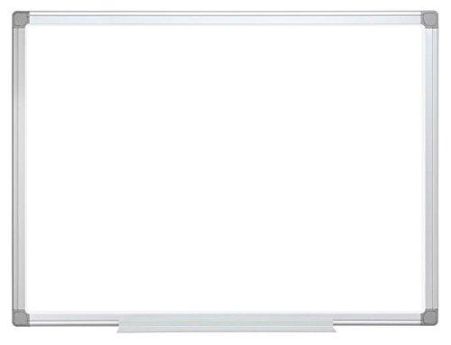 Bi-Office Earth - Pizarra Blanca Magnética, Acero Esmaltado con Marco de Aluminio,...