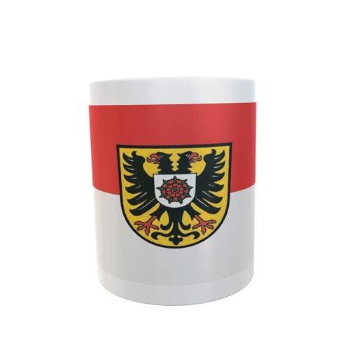 U24 Tasse Kaffeebecher Mug Cup Flagge Kraichtal