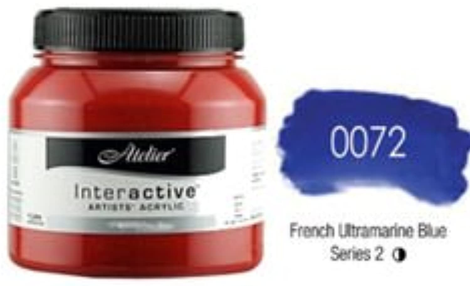 Atelier Interactive French Ultramarine bluee  1 litre Bottle (Series 2)