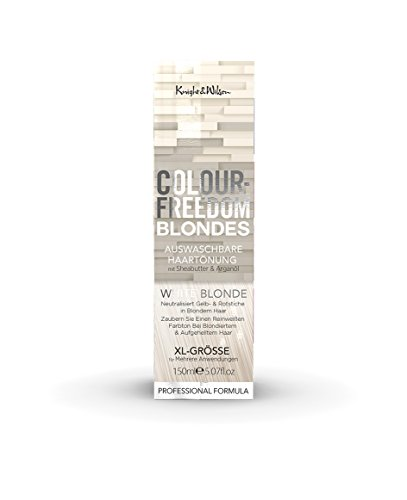Colour-Freedom Blondes White Blonde XL 150 ml auswaschbare Haartönung