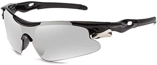 Gafas De Bicicletas Deportes Hombres Gafas De Sol Gafas De Sol Bicicletas Montaña Ciclismo Ciclismo Protección Gafas Gafas Eyewear MTB Bike Gafas De Sol RR7427 Vidrios De Ciclismo (Color: Negro Blanco