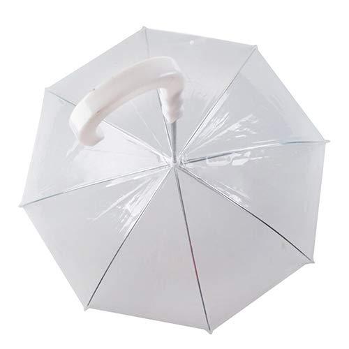 tianxiangjjeu huisdier paraplu koepel vorm waterdichte transparante cover ingebouwde riem huisdier benodigdheden