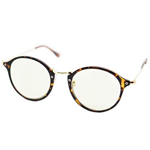 (エイトトウキョウ)eight tokyo 老眼鏡 ブルーライトカット おしゃれ メンズ レディース 兼用 かわいい 1.5 UVカット シニアグラス リーディンググラス[ 鯖江メーカー企画 ]べっ甲/ライトグリーン RD6100-2+1.5