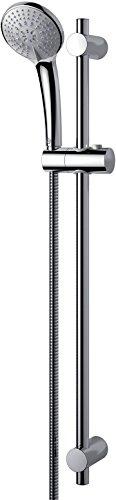 Ideal Standard B9508AA Idealrain M3 SMART asta doccia, doccetta a 3 funzioni con diametro 10 cm con sistema anticalcare, cromato