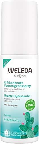 WELEDA Feigenkaktus Erfrischendes Feuchtigkeitsspray, belebendes Naturkosmetik Spray für bis zu 12 Stunden intensiver Feuchtigkeit zur Pflege von müder Haut (1x 100ml)