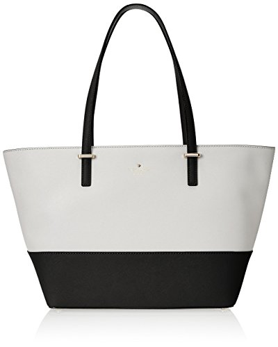 kate spade new york Cedar Street Small Harmony Tote Bag, Black/Cement, One Size