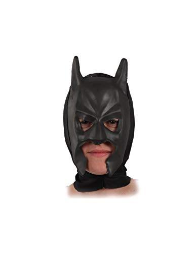 DISBACANAL Máscara superhéroe Batman Goma eva