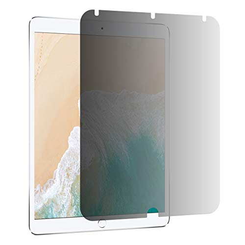 AmazonBasics Slim Privacy Screen Filter for 10.5' iPad Air 2019 / iPad Pro 2017, Antimicrobial, Anti Glare UV & Blue Light Filter (Portrait-only, 24.6 x 17 cm)