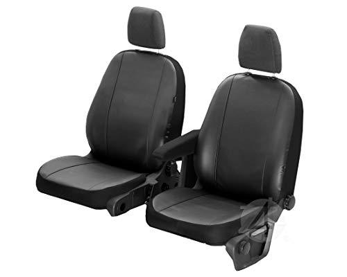 Passgenaue Kunstleder Sitzbezüge VIP ideal Angepasst 1+1 (2-Sitze) Fahrzeugspezifisch Kunstleder | 4D-Z4L-DV-VIP-MV14-02M-90