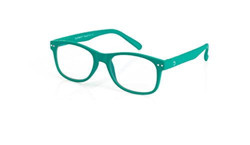 Blueberry - Computer Glasses - Size L - Green - (Peppermint, Clear)