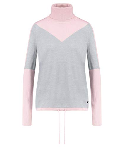 Bogner Fire + Ice Ladies Xena Grau-Pink, Damen Freizeitpullover, Größe S - Farbe Dusty Rose