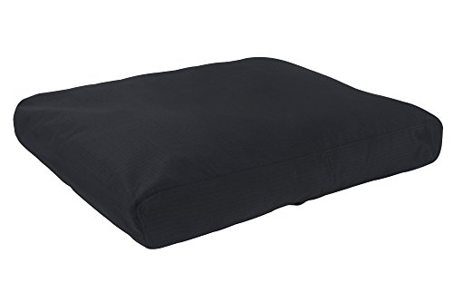 K9 Ballistics Tough Rectangle Nesting Small Dog Bed - Washable, Durable and Waterproof Dog Bed - Made for Small Dogs, 18'x24', Black