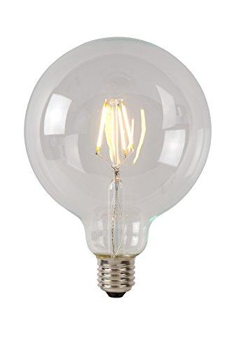 Lucide LED BULB - Glühfadenlampe - Ø 12,5 cm - LED Dim. - E27 - 1x5W 2700K - Transparent