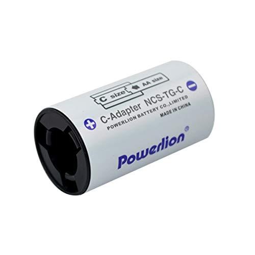 Gugutogo Zellenbatteriehalterung, Größe AAA bis D, Konverterkapazität Extender-Batterieumschalter, Batterieumwandlungsbox mit großer Stärke