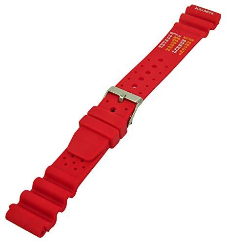 Uhren Pevak 101828 - Correa para reloj, color rojo