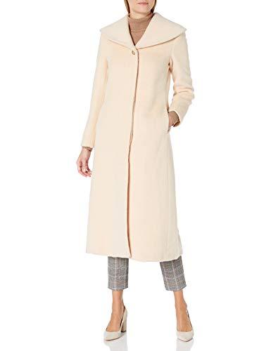 Jones New York Damen Coat Mantel aus Mischwolle, Palomino 748, Mittel