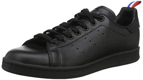 adidas Stan Smith, Scarpe da Ginnastica Uomo, Nero Core Black/Ftwr White/Scarlet, 40 2/3 EU