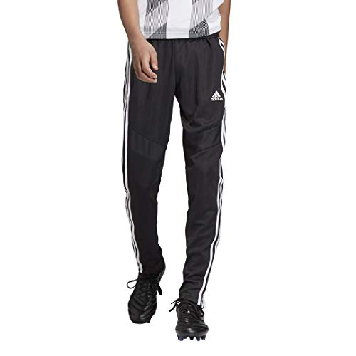 adidas Kids' Tiro 19 Training Pants, Black/White, Large