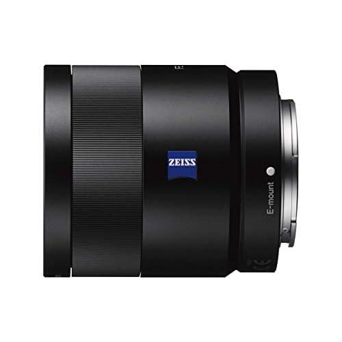Sony SEL-55F18Z Obiettivo a Focale Fissa 55 mm F1.8, Serie Zeiss, Mirrorless Full-Frame, Attacco E, SEL55F18Z