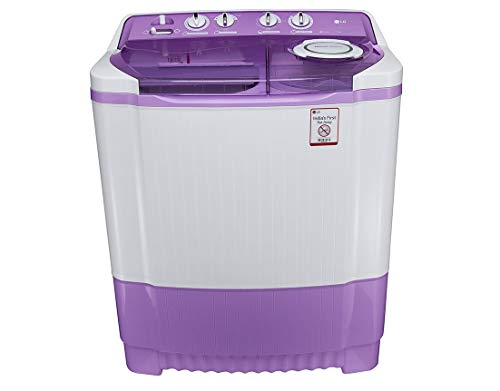 LG 7.5 kg Semi-Automatic Top Loading Washing Machine (P8537R3SA, Mauve)