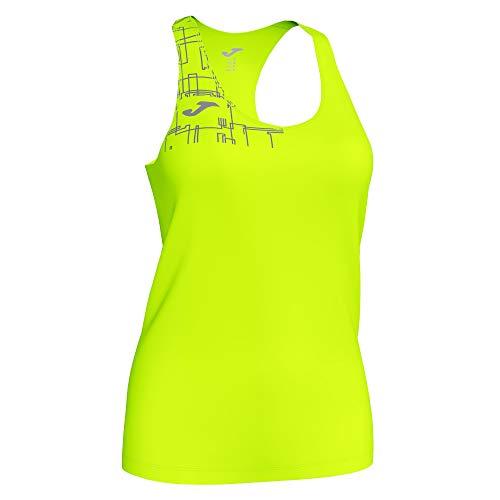 Joma Camiseta Tirantes Elite VIII Amarillo flúor