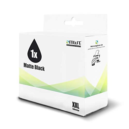 1x MWT Druckerpatrone für Canon imagePROGRAF LP 17 24 ersetzt PFI-102MBK PFI102MBK Black Matte