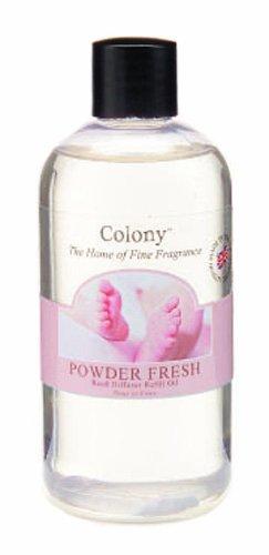 Wax Lyrical Nachfüll-Packung für Duft-Diffusor mit Stäbchen, Duft: Powder Fresh (frischer Babypuder-Duft)