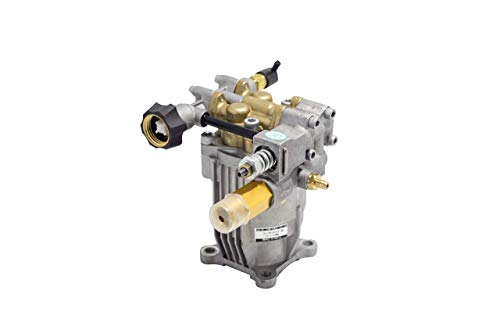 """PEGGAS - Horizontal Pump - 3/4"""" Shaft - MAX 3200 PSI - 2.5 GPM - Replacement Pressure Washer Pump - Better than OEM - Comes With Oil - Fits Most Brands"""