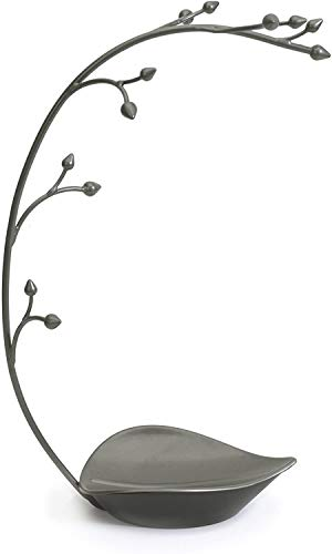 Umbra Orchid Jewelry Hanging Tree Stand - Multi-Functional Necklace Metal Holder Display Organizer...