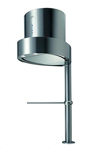 Vertikale Tischhaube der oberste Klasse/ * EEK A * / GALVAMET EGO 60/F INOX / 66 cm / 100% MADE IN ITALY/ECHT LEISE/Dunstabzugshaube/INOX Design/ECOLED