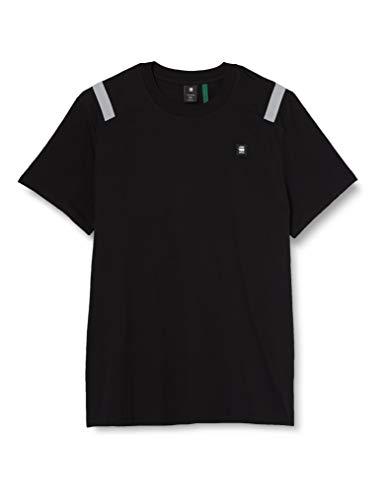 G-STAR RAW Shoulder Tape Reflective Logo+ Camiseta, Dk...