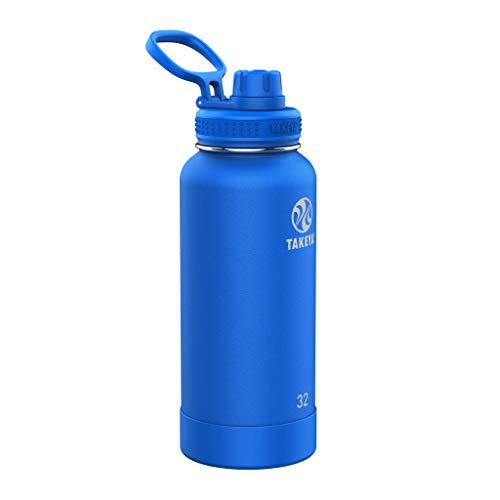 Takeya Actives 32oz Spout Bottle Cobalt