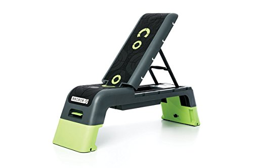 Escape Fitness Deck V2.0 Workout Platform or Adjustable Bench - Black/Green