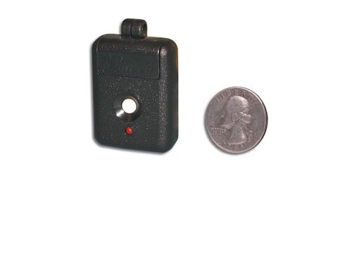 """Linear DNT00026 1-Channel Key Ring Transmitter, 310 MHz, 12 V Power, 2.2"""" Width, 1.42"""" Height"""