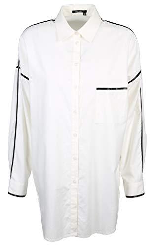 Marc Aurel Damen Bluse Größe 36 EU Weiß (weiß)